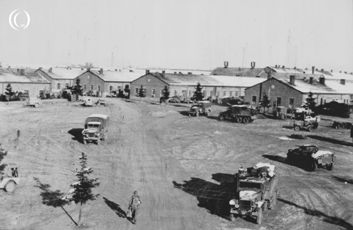 Bastogne Barracks 101st Airborne Division HQ between December 1944 to January 1945