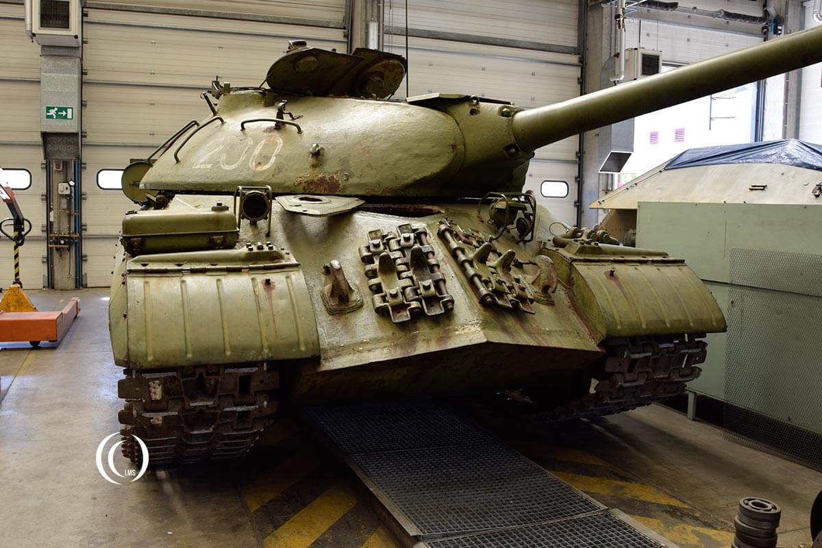 IS 3 Heavy Tank at Bastogne Barracks