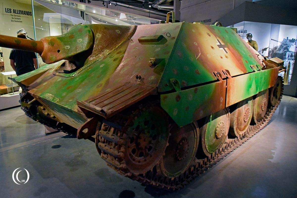 Swiss G13 tank at the Bastogne War Museum