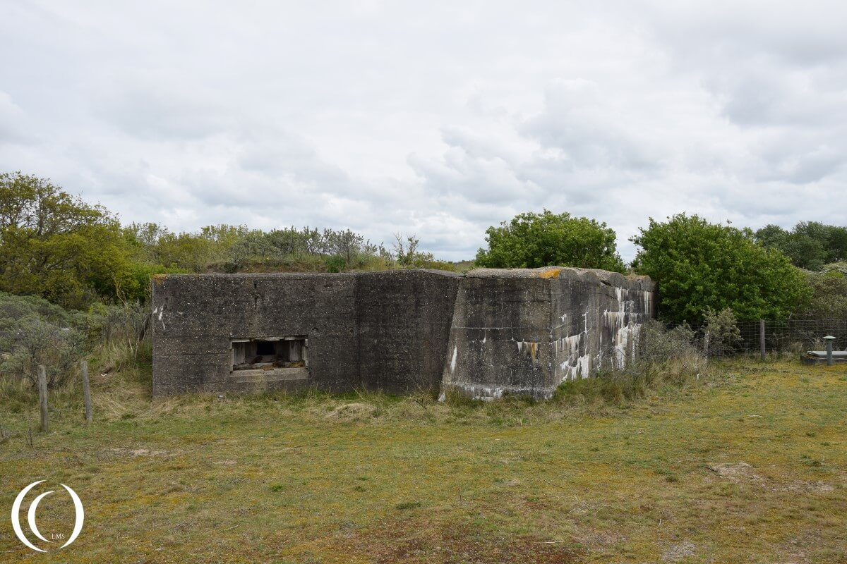 MG Bunker at the anti Tank Wall - Stützpunkt Katwijk
