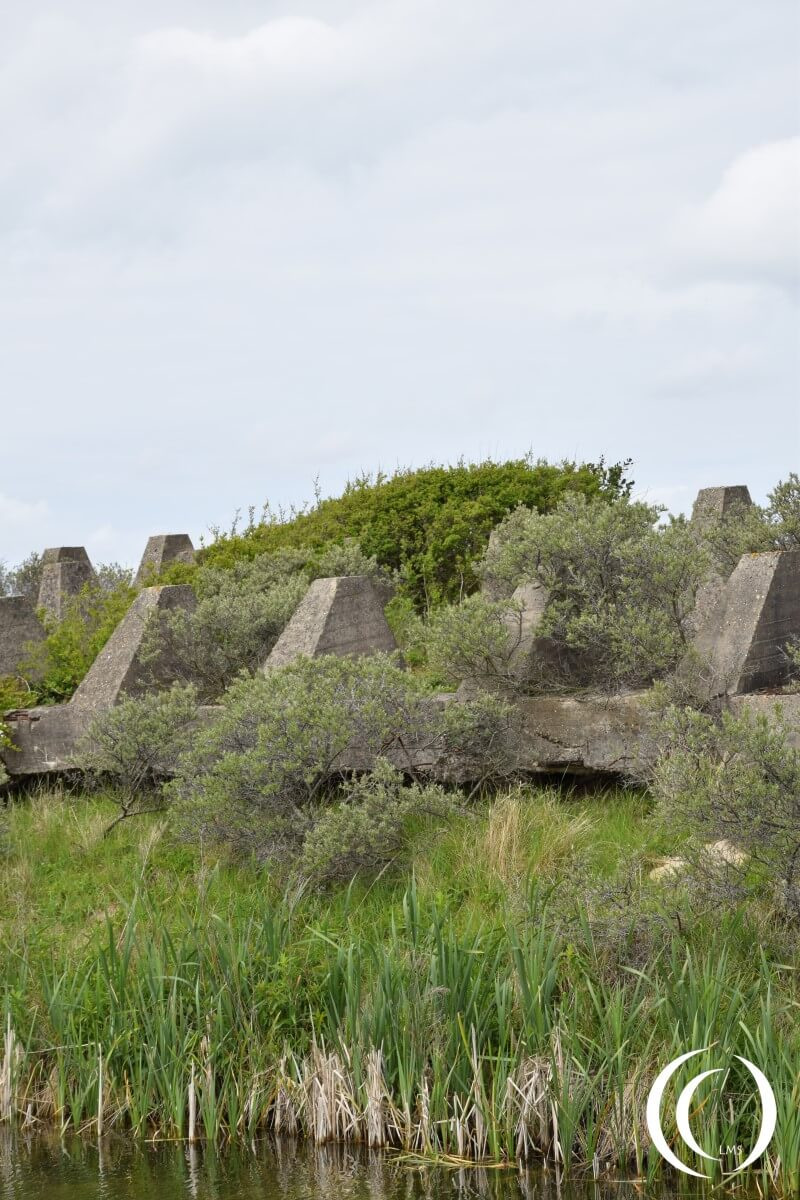 Dragon Teeth, or Höckerline - Stützpunkt Katwijk