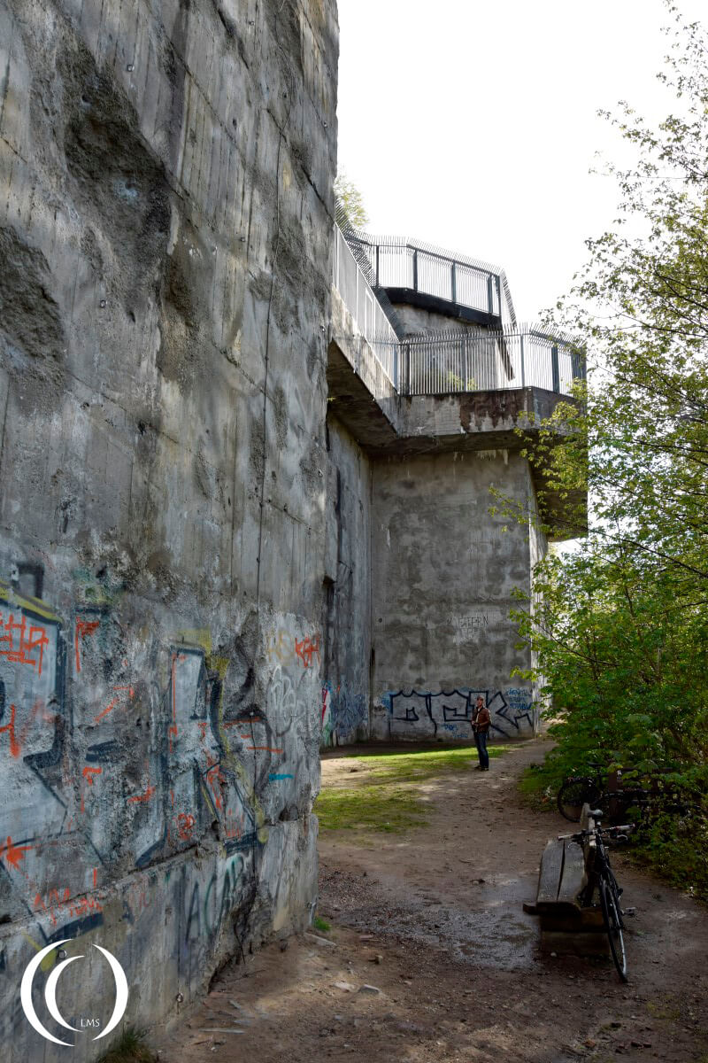 Flak Tower Humboltshain - Berlin, Germany
