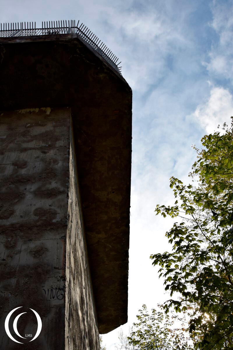 Flak Tower Humboltshain - underneath the Swallow's nest