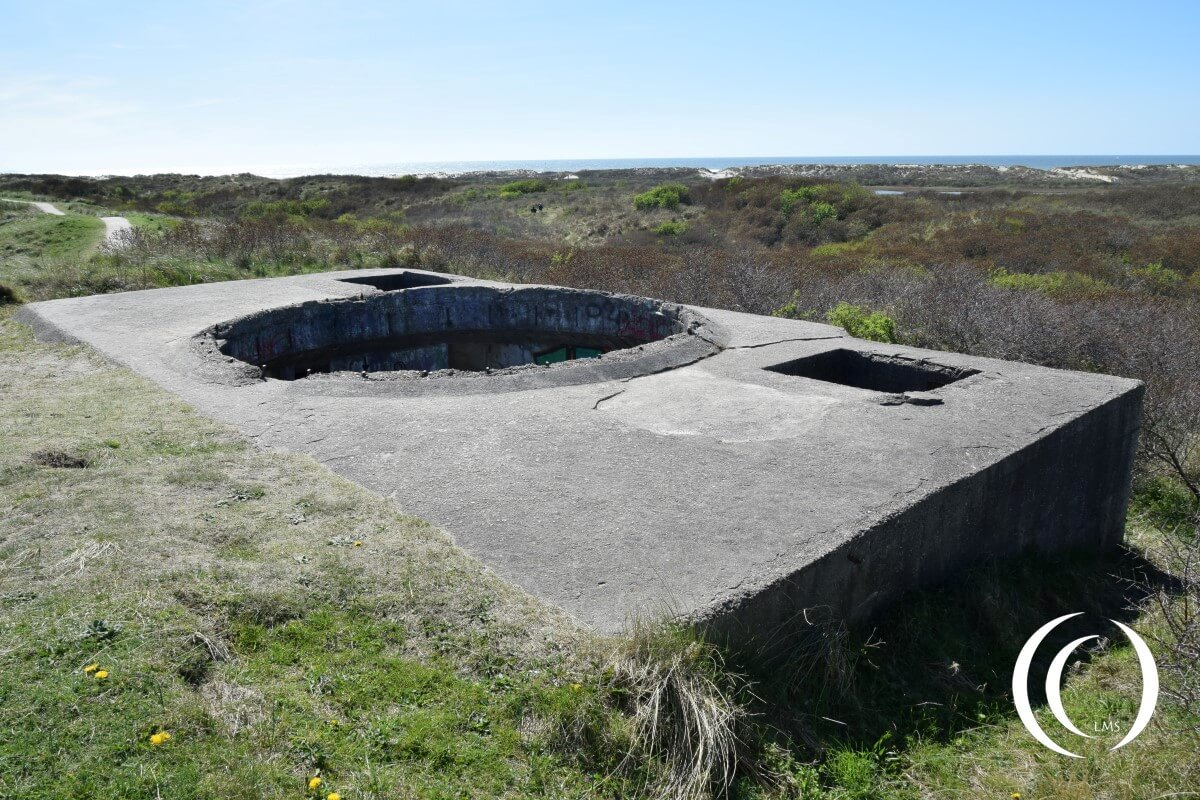 Location of the optical devices - Fire Control - FLAK Batterie Olmen