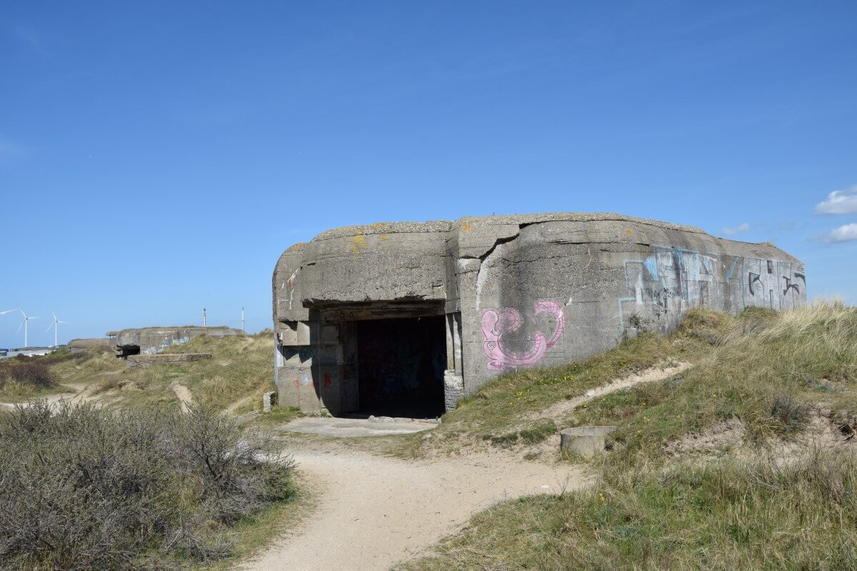 M272 Closed Gun Emplacements Battery Heerenduin