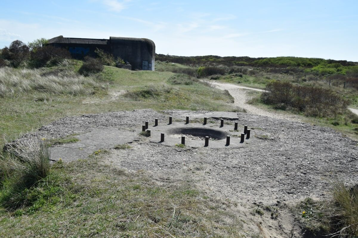 Open Gun Emplacements Seeziel Batterie Heerenduin