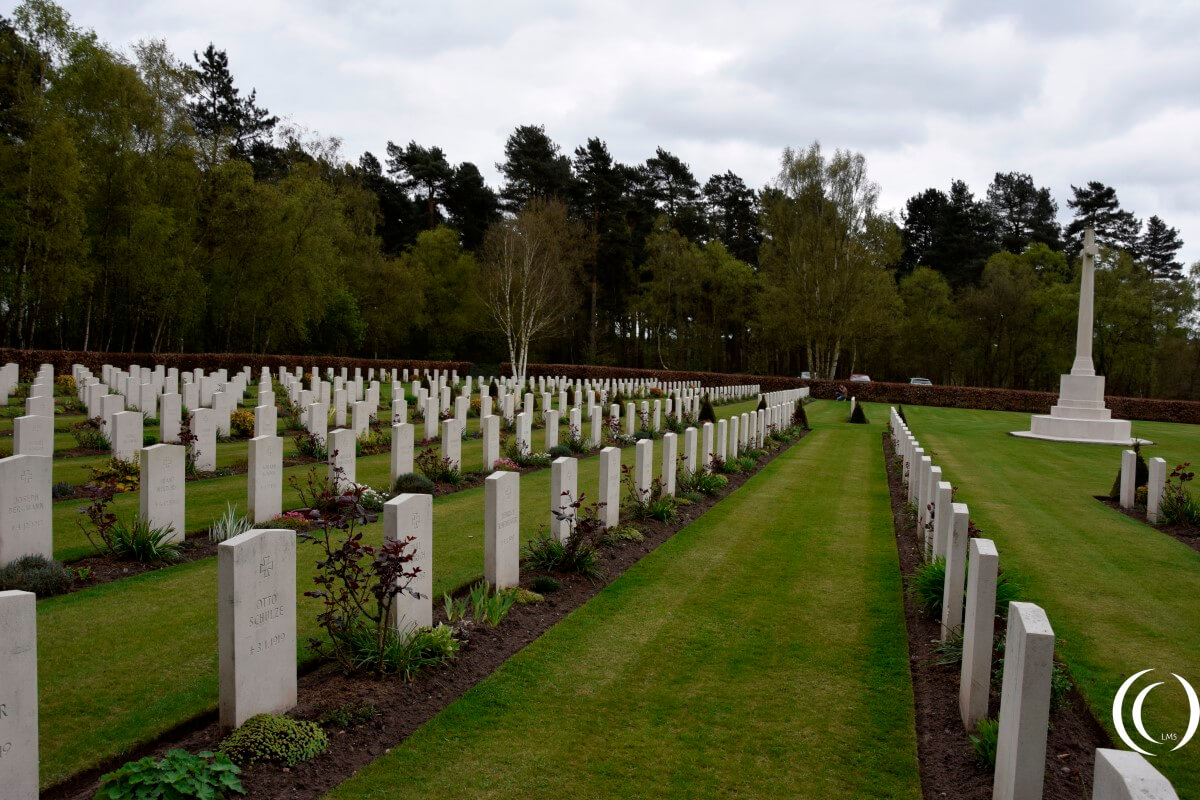 Commonwealth Cemetery Cannock Chase