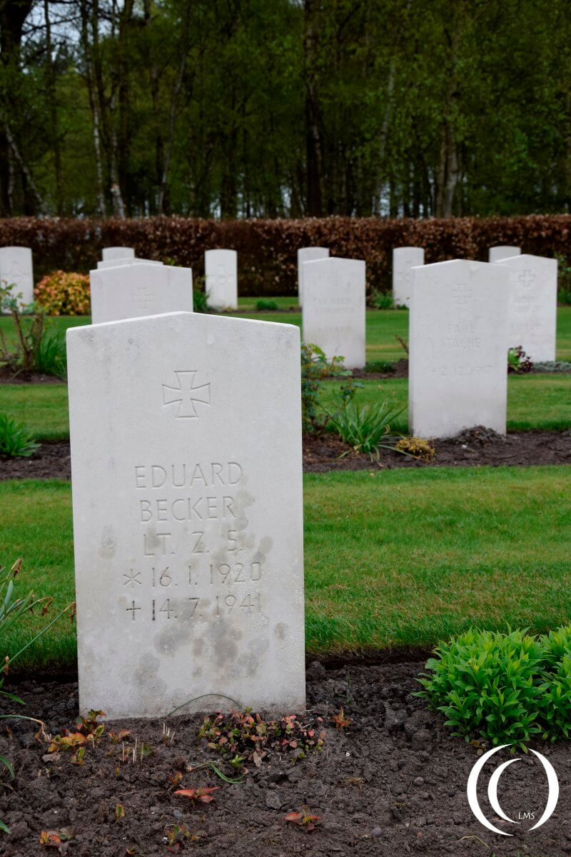 Commonwealth Cemetery Cannock Chase - Second World War German Grave