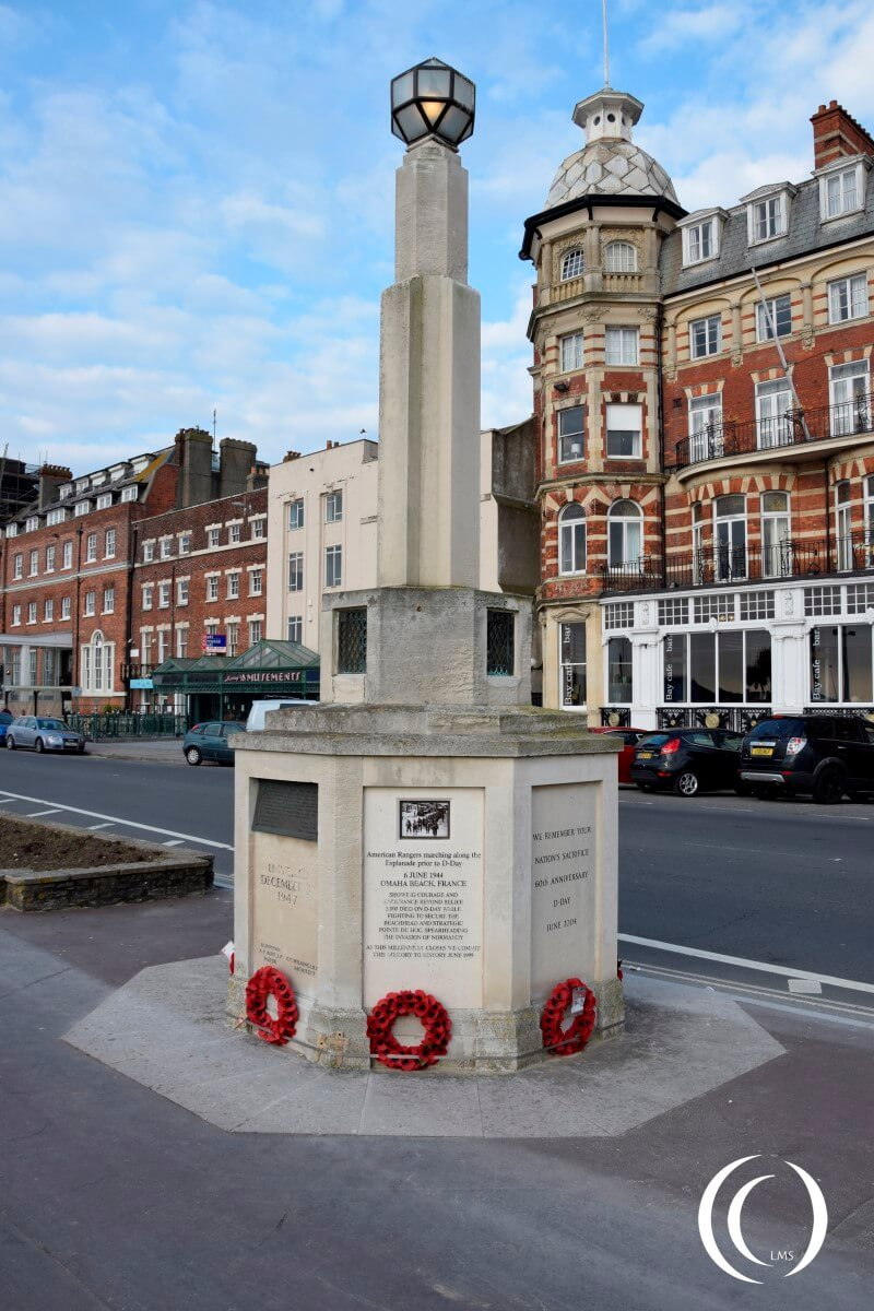 Exercise Tiger Cenotaph - Weymouth England