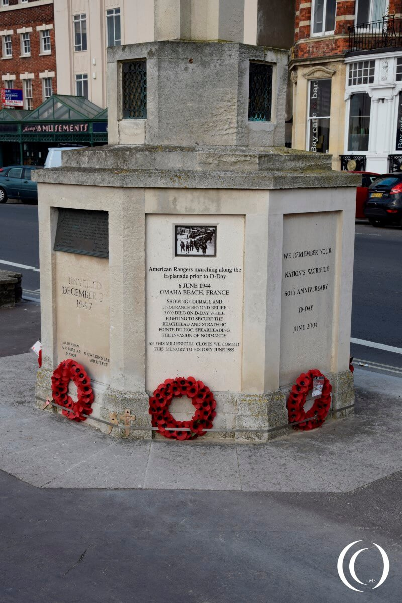 Exercise Tiger - Ranger Memorial Weymouth
