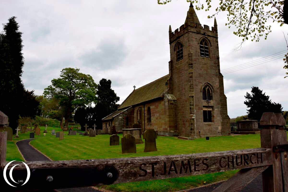 Entrance gate - St. James Church - Acton Trussell