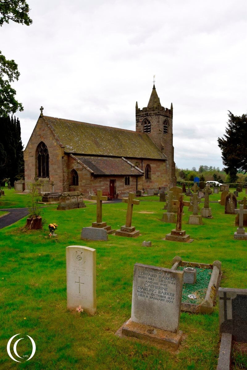 World War Two Grace at St. James Church - Acton Trussell