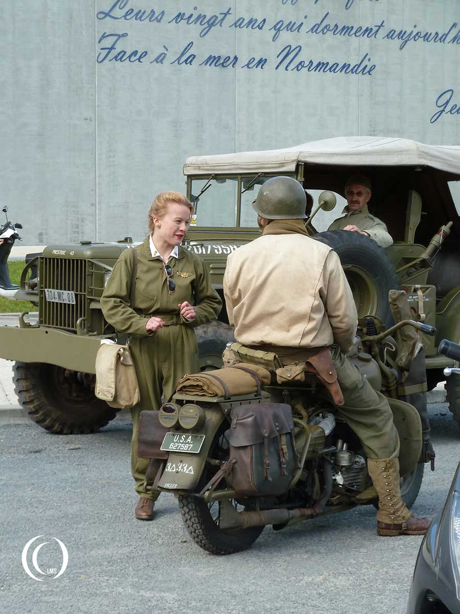 D-Day festivities at Overlord Museum