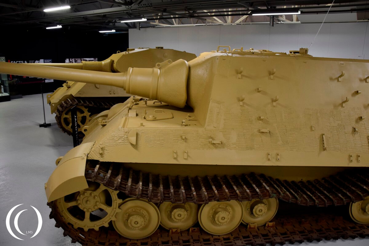Jagdtiger based on the King Tiger - Bovington Tank Museum