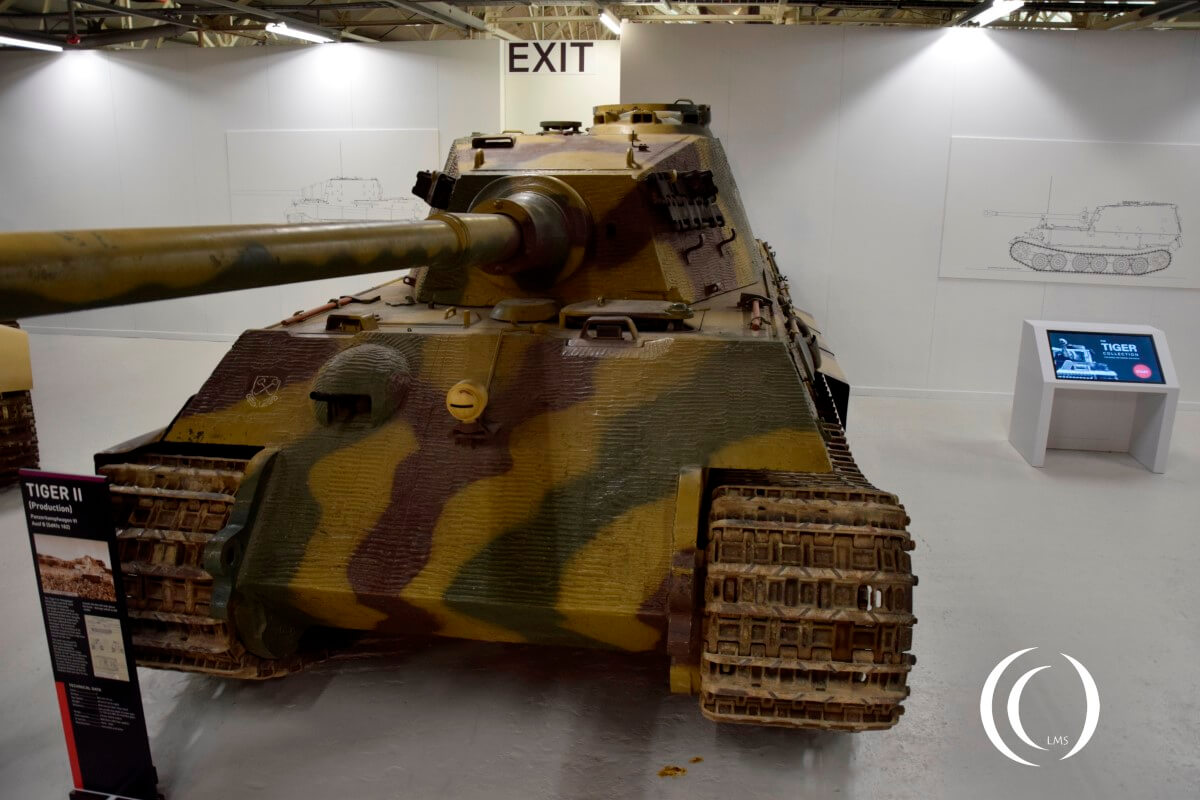 King Tiger with Henschel Turret in the Bovington tank museum