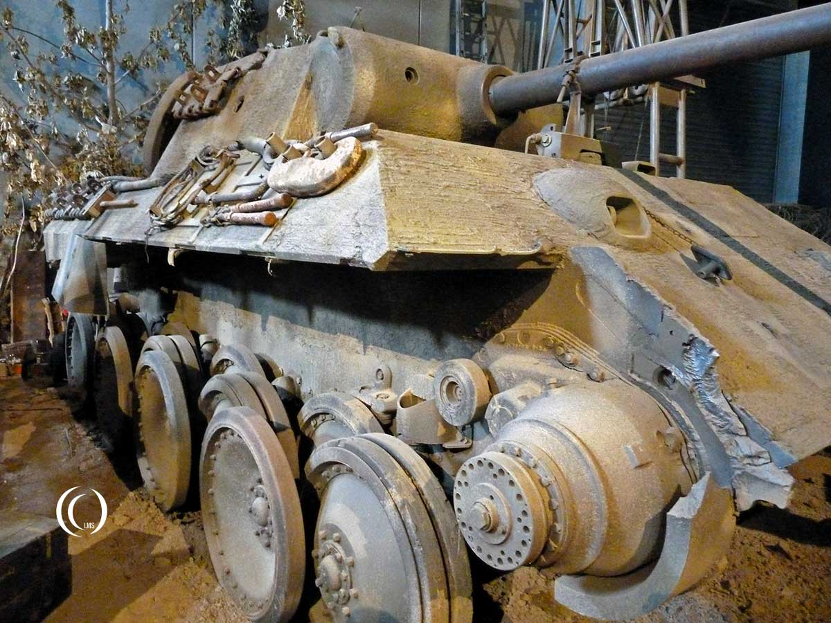 Panther Tank Ausf A Overlord Museum