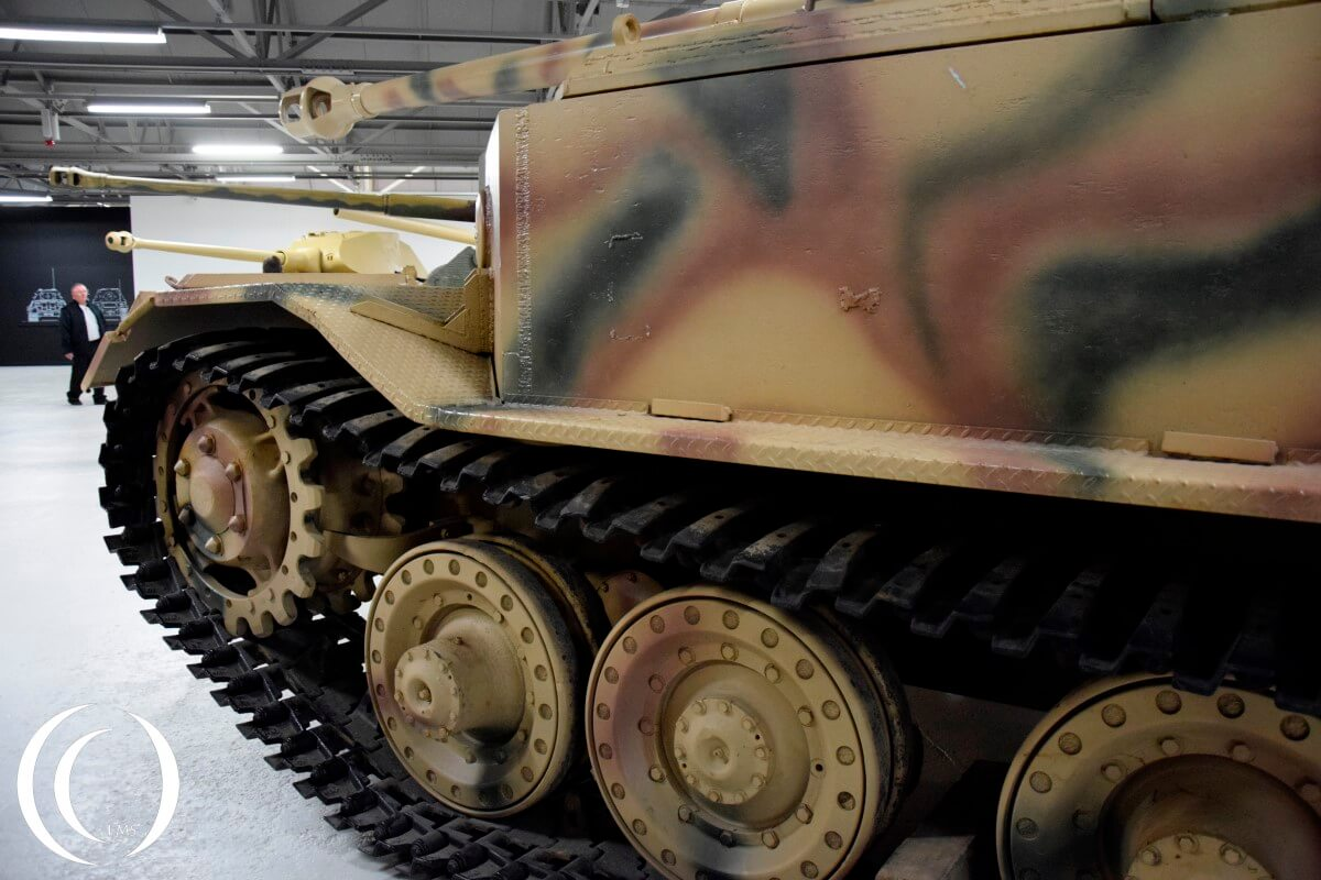 Panzerjäger Tiger (P) - Sd.Kfz. 184 - the Elefant in Bovintong Tank Museum
