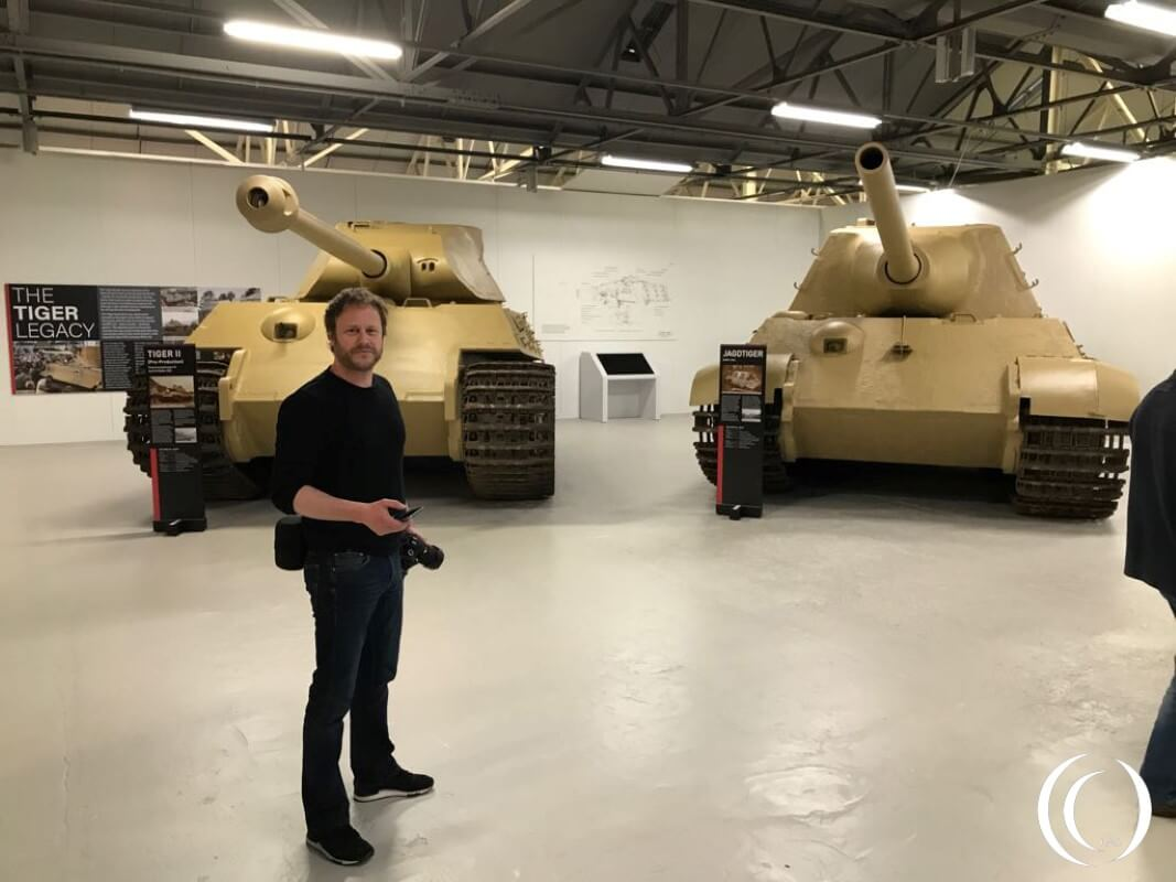 Patrick @ Work - The Tiger collection Bovington