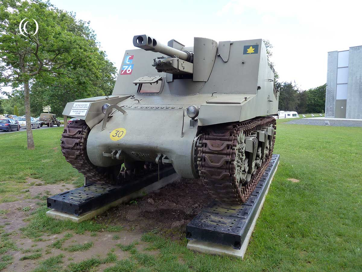 A Sexton self propelled gun at the Overlord Museum