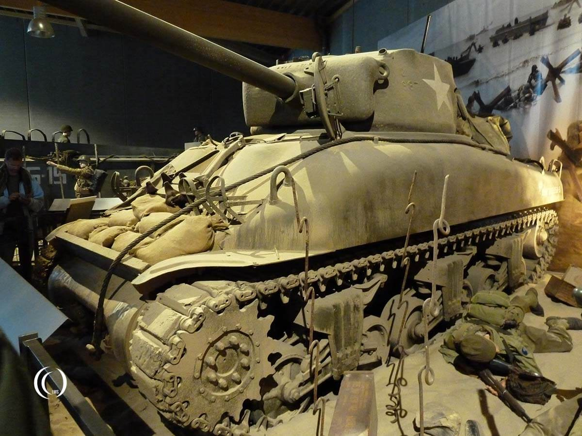 Sherman tank at the Overlord Museum