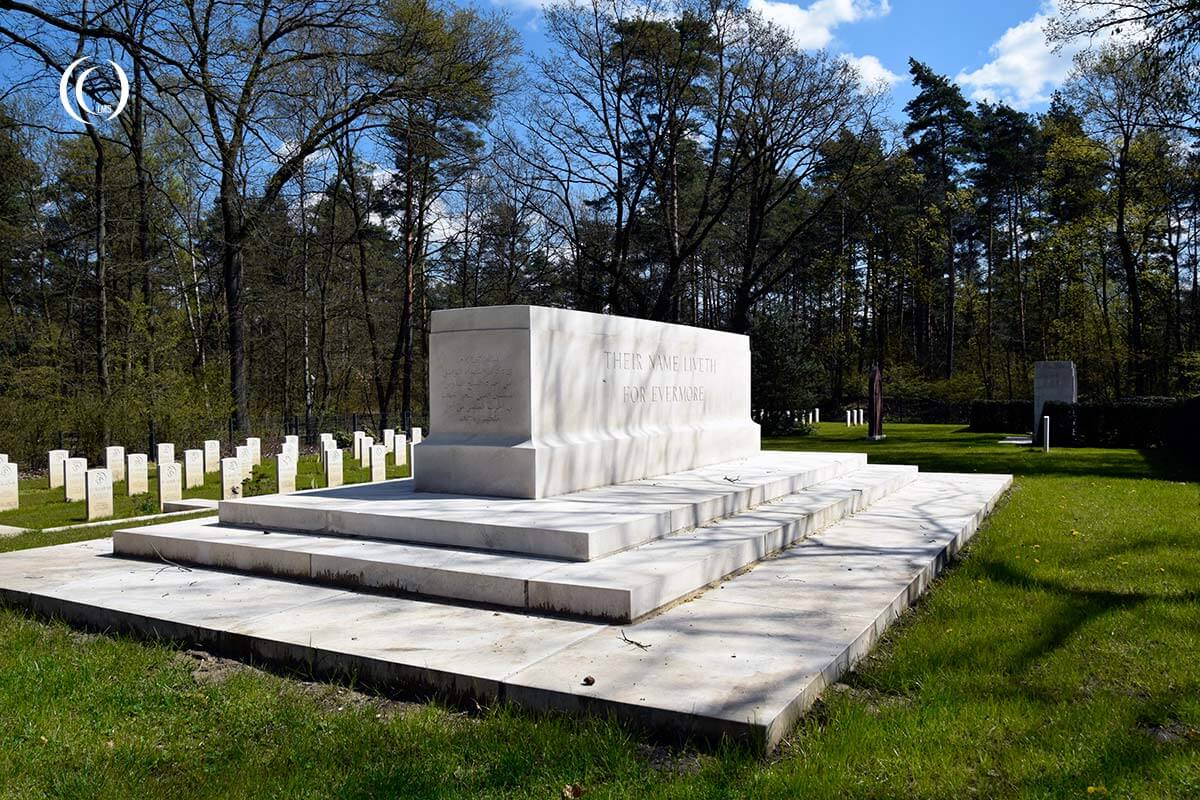 Stone of Remembrance at Zehrensdorf Indian Cemetery