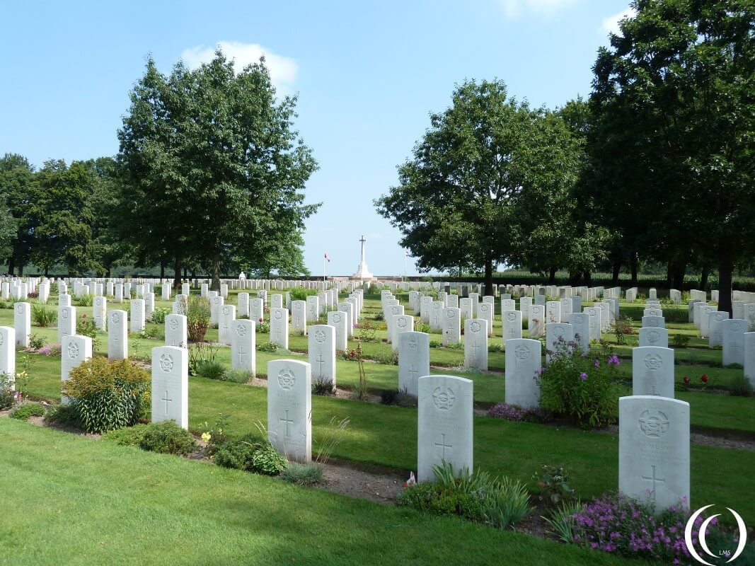 Overview Canadian Commonwealth Cemetery - Groesbeek