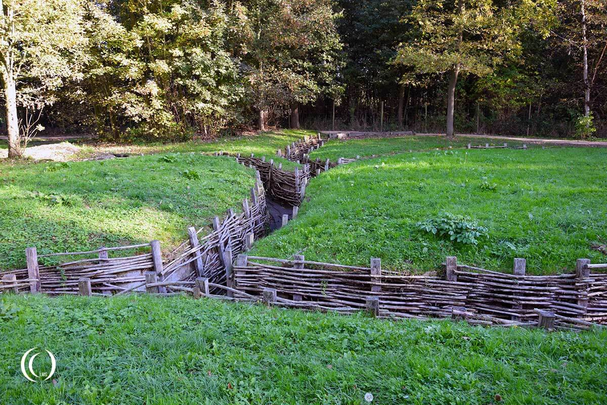Bayernwald WWI Trenches