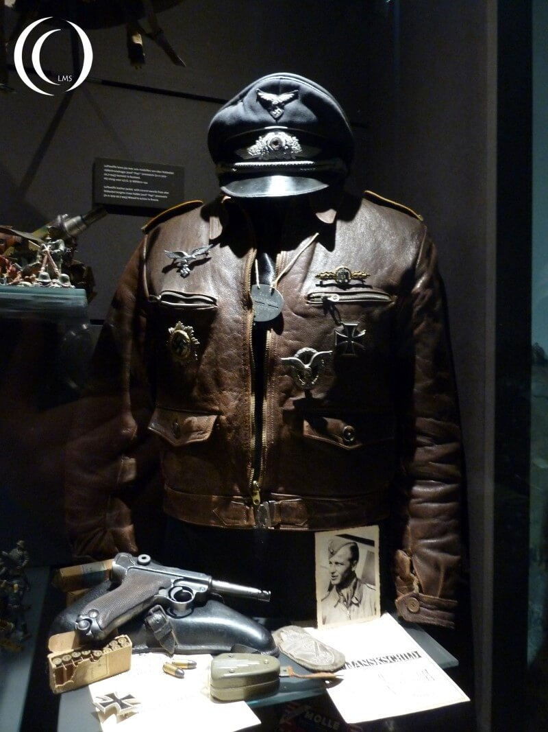 Personal items in the Eyewitness Museum