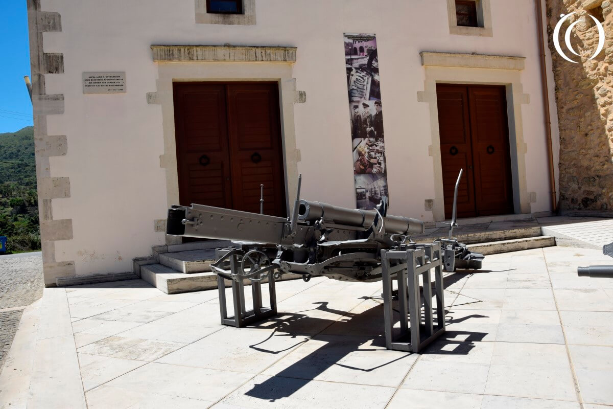 Relics from the First World War - Military Museum of Chromonastiri