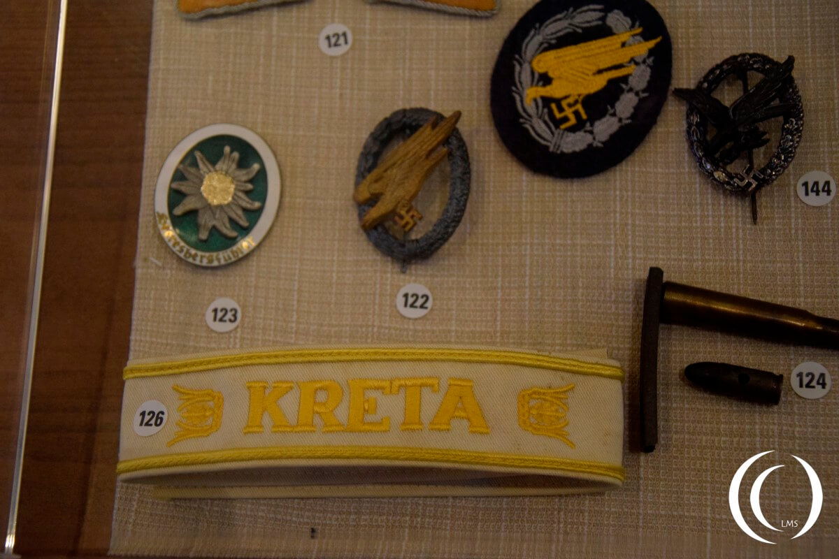 German items from the Battle for Crete