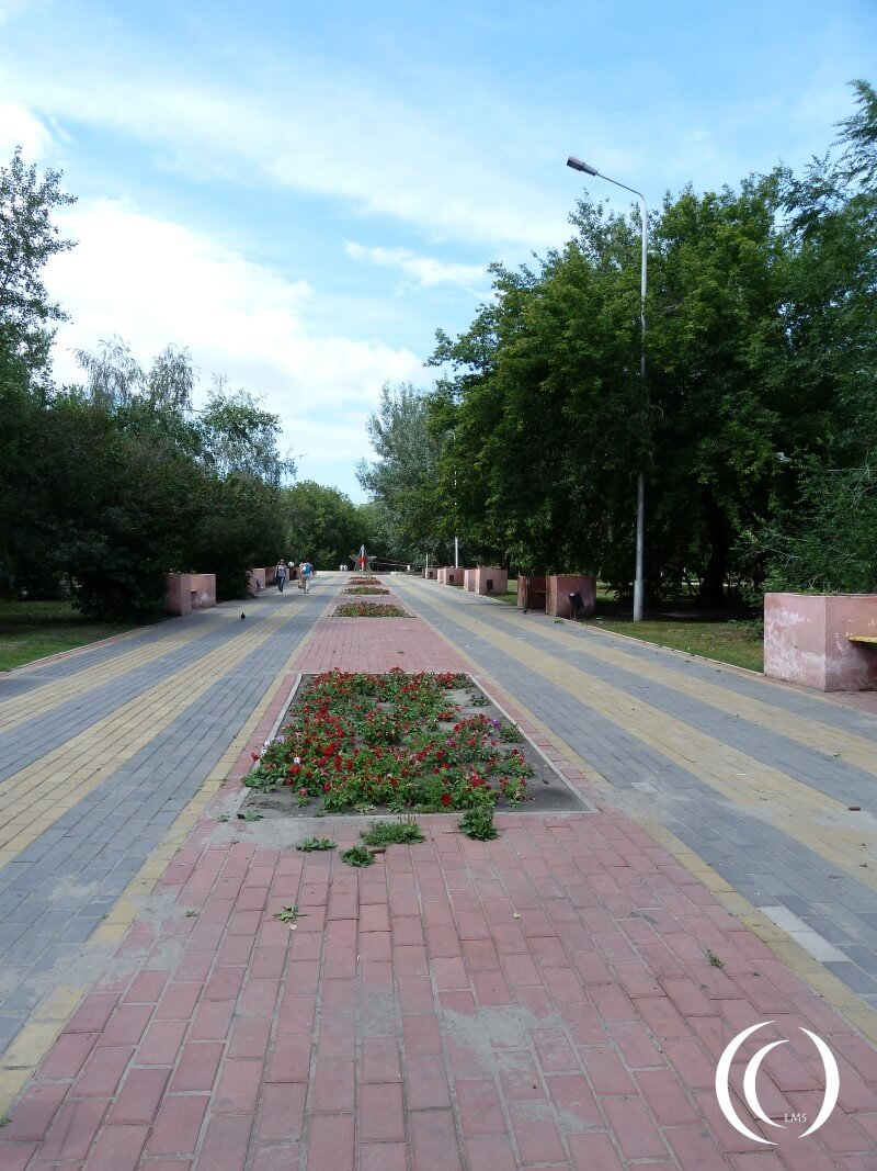 Victory Park Kurgan - Memorial Lane