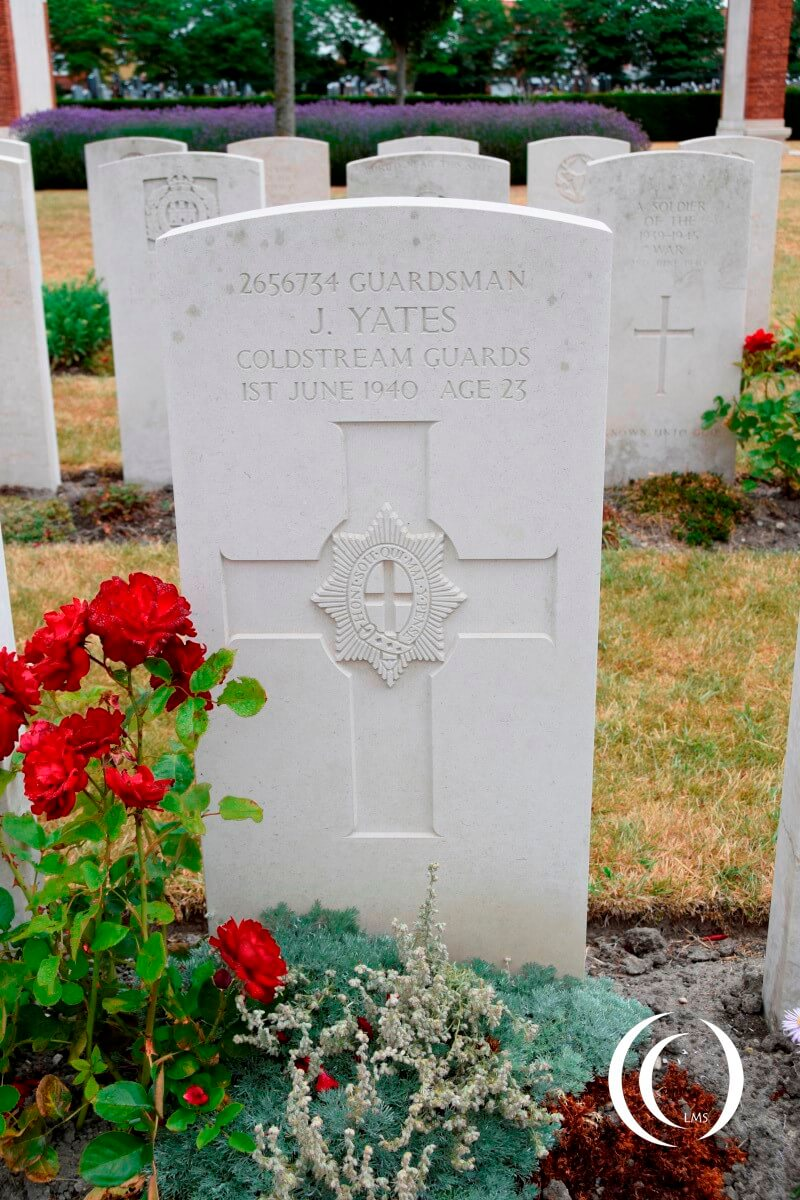 Dunkirk Town Cemetery - Coldstream Guards