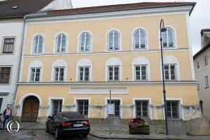 Adolf Hitler's Birthplace in Braunau am Inn, Austria