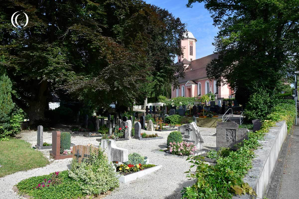 The Cemetery at Herrlingen, Blaustein Germany