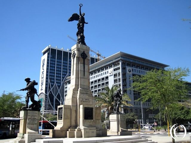 The Cenotaph in Cape Town, a WW1 and WW2 memorial – South Africa