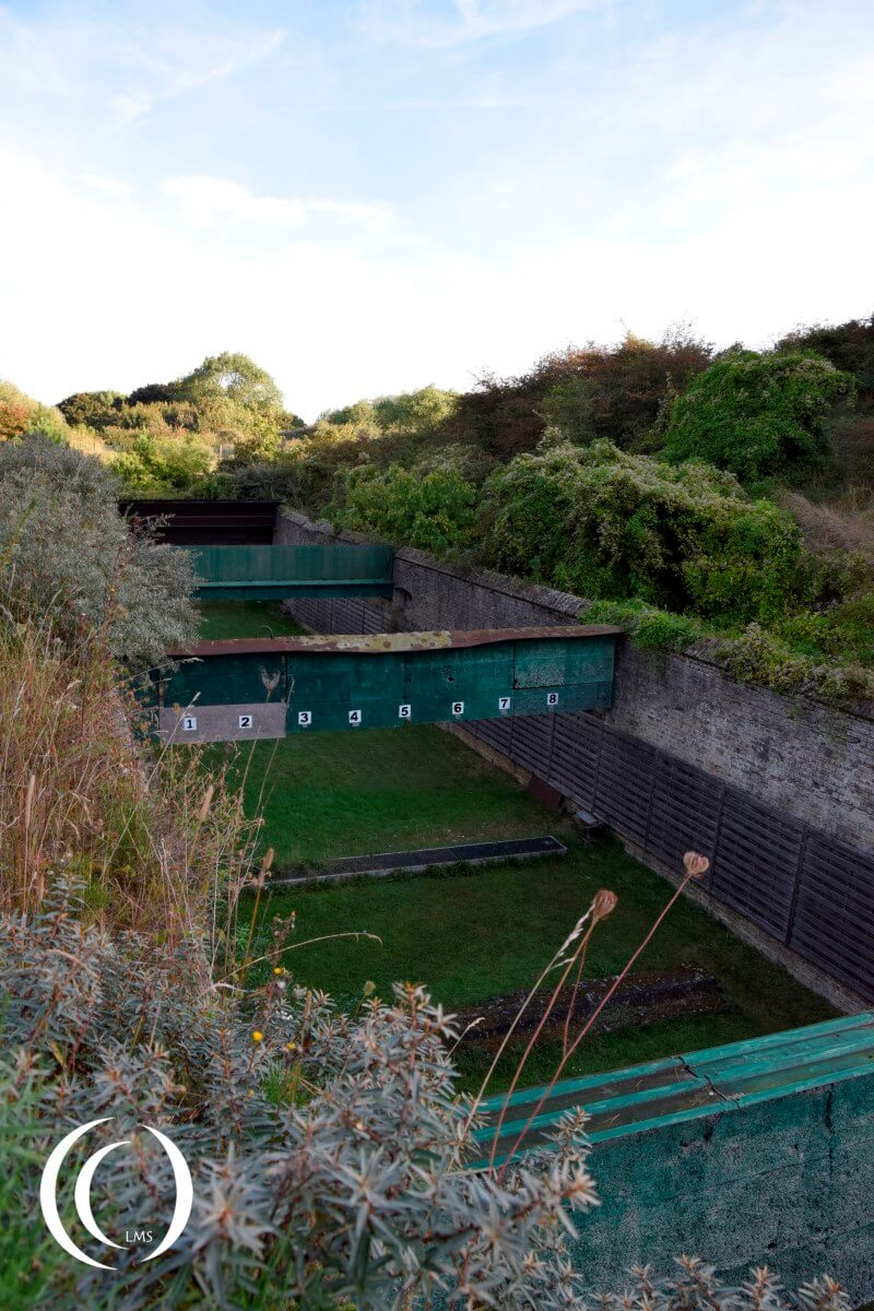 Fort des Dunes, shooting range - Dunkirk France