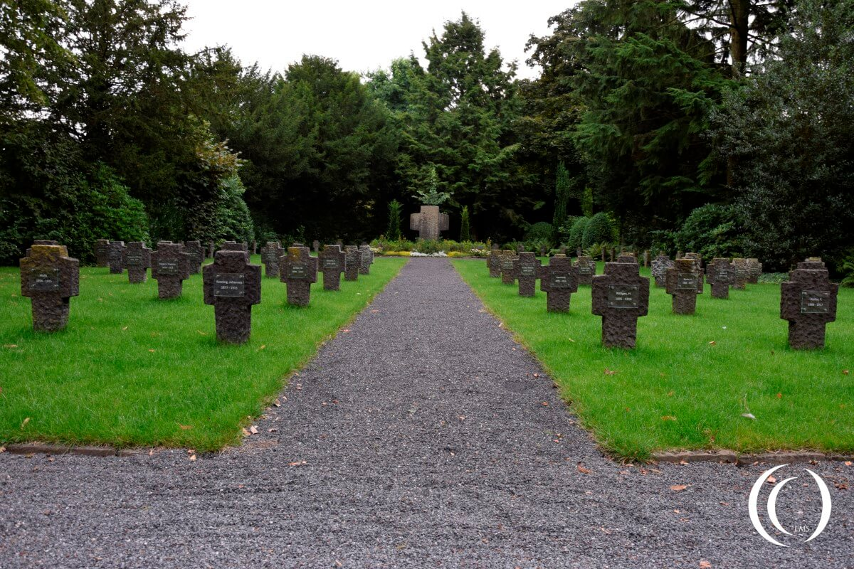 German War Cemetery Geldern - North Rhine-Westphalia, Germany