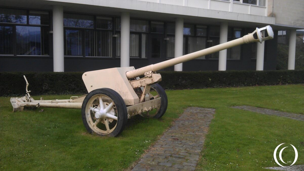 PaK 40 at the 119th Regiment 30th Infantry Division Memorial in Valkenburg