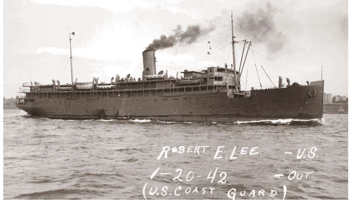 SS Robert E. Lee - U.S. Coast Guard, mille-sabords.com