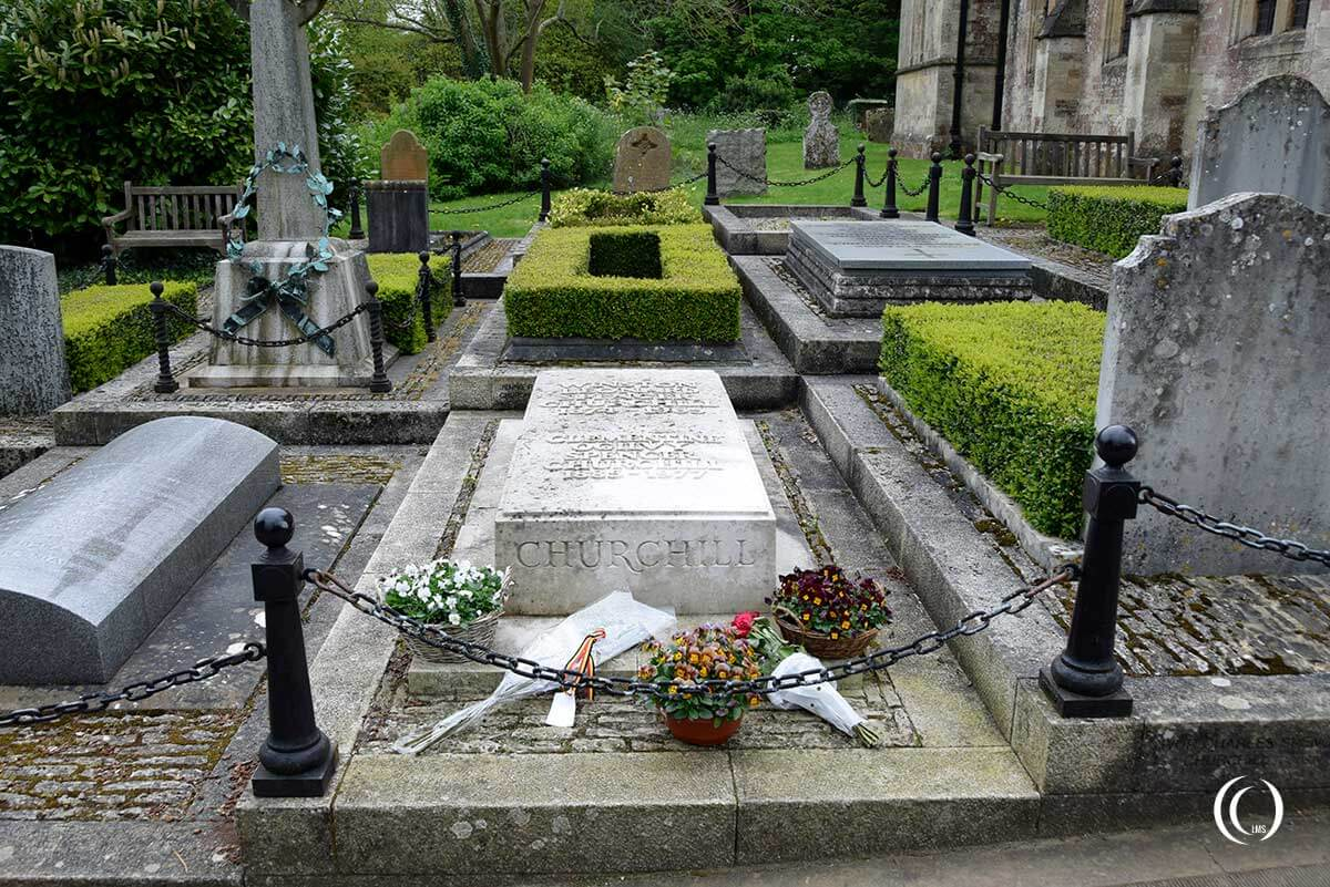 Grave of Winston Churchill England