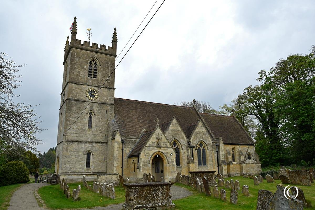 The Parish Church of St Martin Bladon England