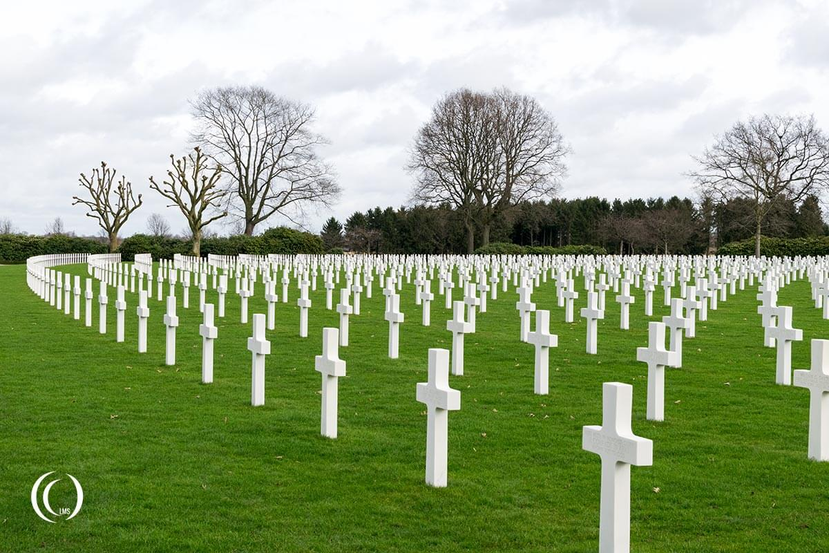 Netherlands American War Cemetery and Memorial Margraten LandmarkScout