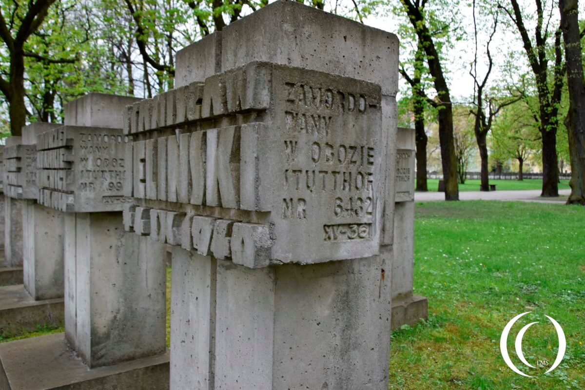 Zaspa Cemetery Gdansk - Murdered in Concentration Camp Stutthof