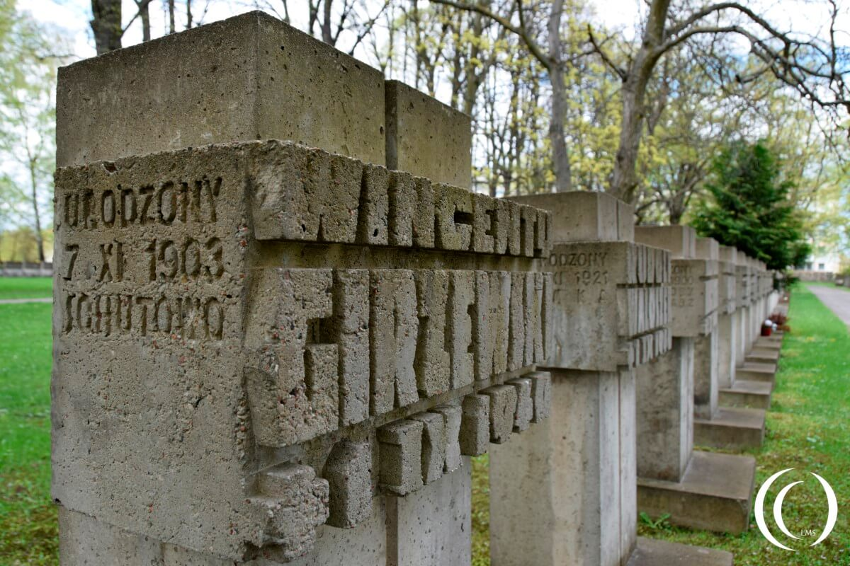 Zaspa Cemetery - victims of Concentration camp Stutthof