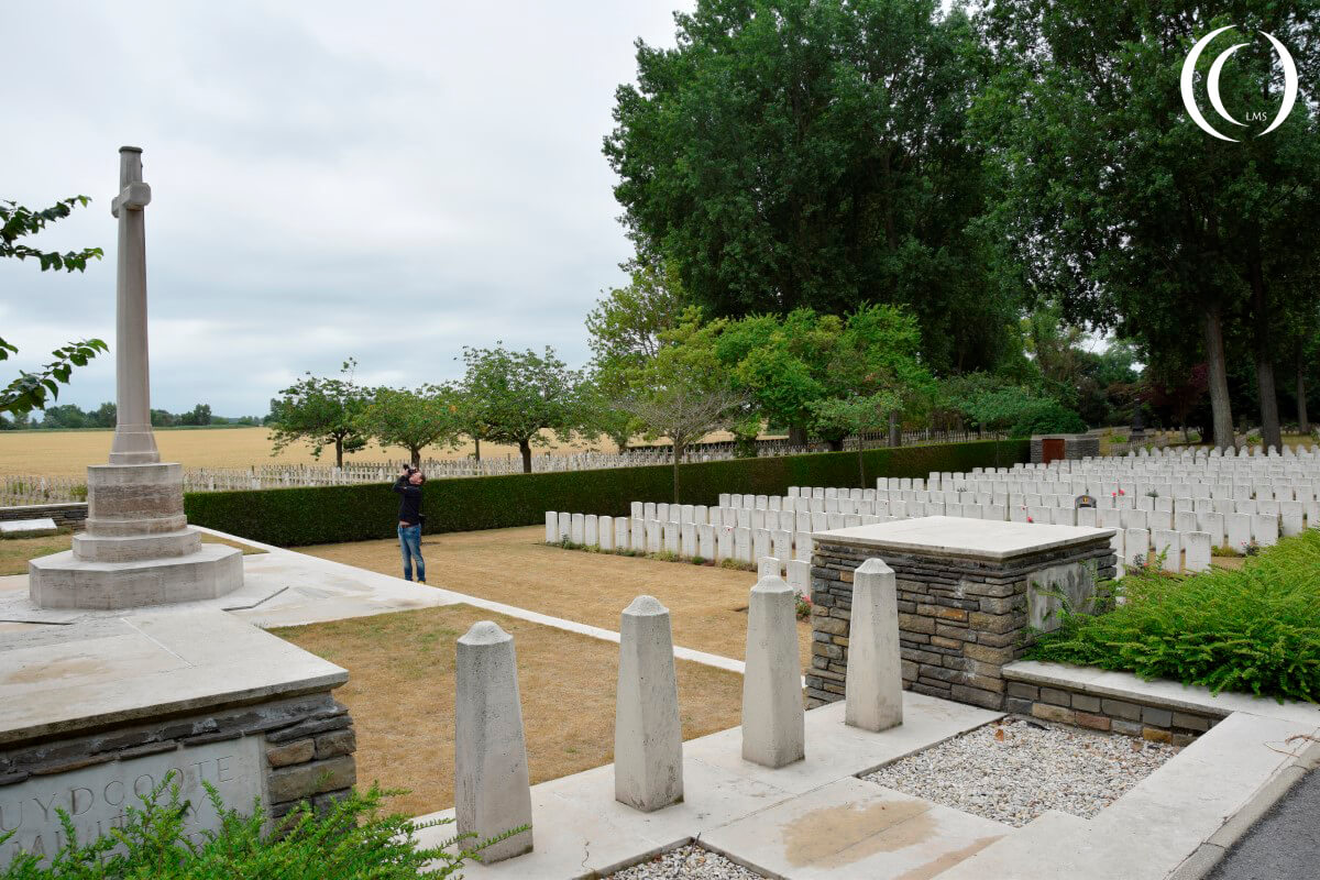 Military Cemetery Zuydcoote - Common Wealth