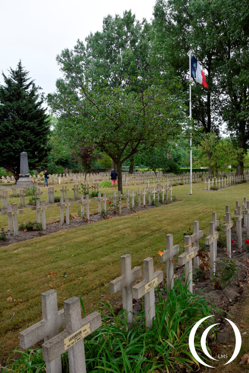Military Cemetery Zuydcoote - France section