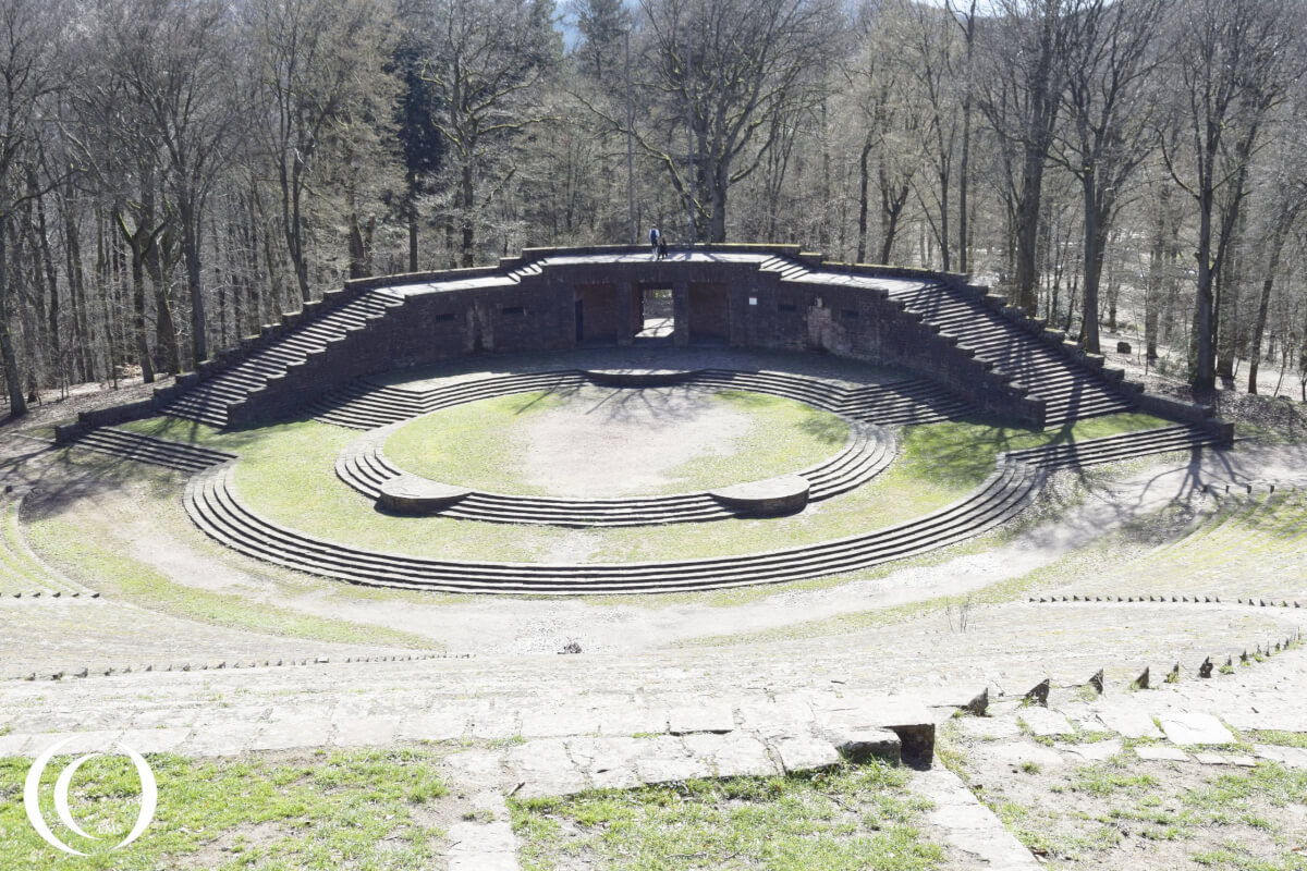 Thingstätte Heidelberg Germany– Amphitheatre used for Nazi Propaganda