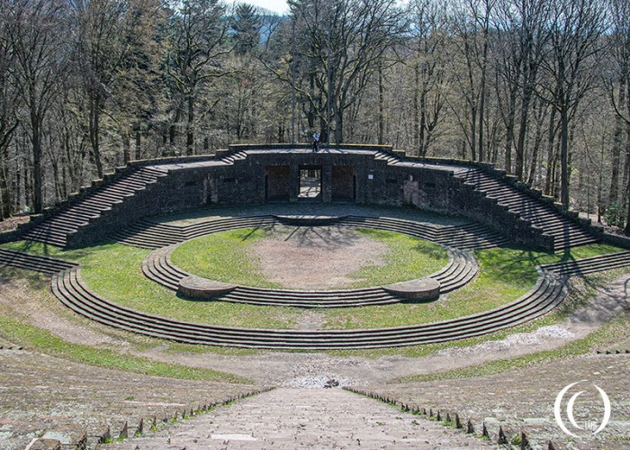 Thingstätte Heidelberg Germany – Amphitheatre used for Nazi Propaganda