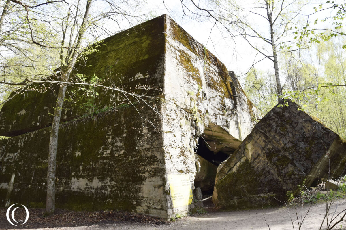 No. 16 Damage on the Hermann Göring Bunker- Wolf's Lair